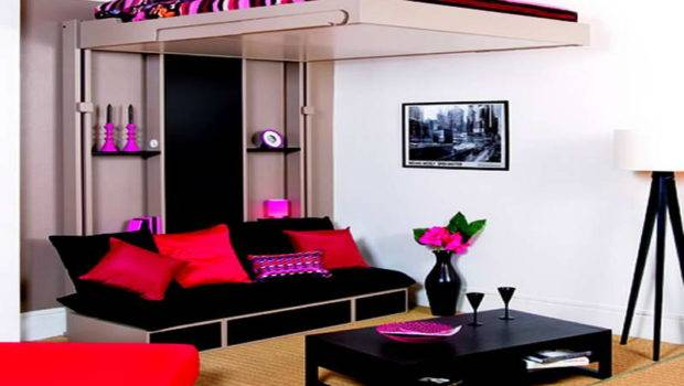 Small Spaces Black Sofa Beds