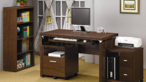 Small Spaces Leather Desk Chair White Office Wooden Desks