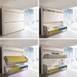 Small Spaces Urban Lollisoft Murphy Bunk Beds Hiconsumption