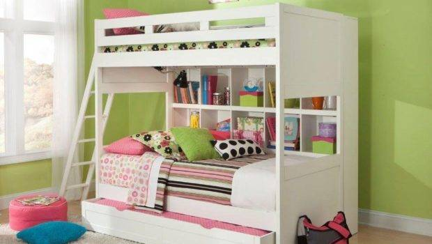 Smart Solutions Twin Over Bunk Bed Trundle