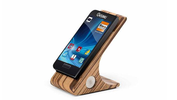 Smartphone Home Red Dot
