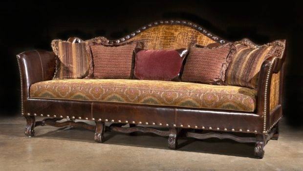 Sofa Couch Alligator Leather Cool Furniture