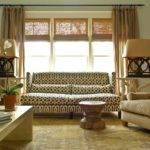 Sofa Front Windows Transitional Living Room Janie Molster