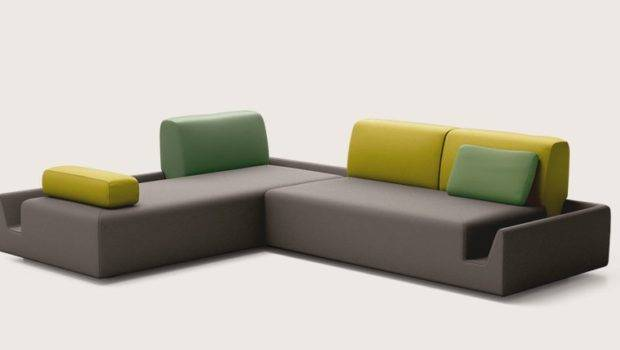 Sofa Modern Living Room Interior Colorful Set