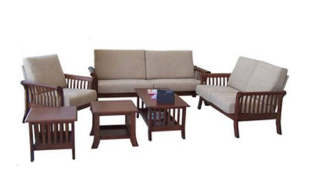 Sofa Set Designs Wood Traditional Design Classic