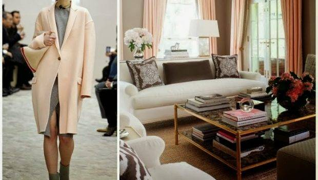 Soft Pink Fall Trends Both Fashion Interior Design
