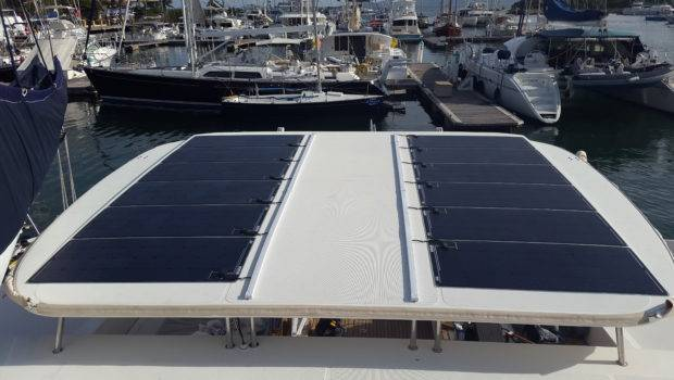 Solara Walk Solar Panels Products Display Fort Lauderdale
