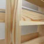 Solid Pine Spice Rack Contemporary Modern Style Shelves Freestanding