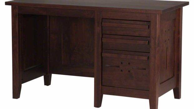 Solid Wood Computer Desk Home Office Furniture