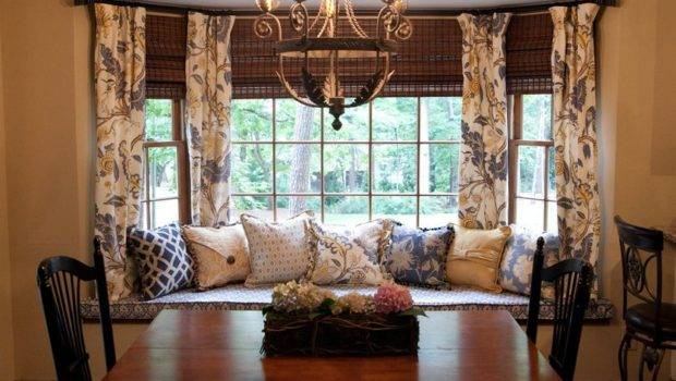 Solve Curtain Problem Have Bay Windows