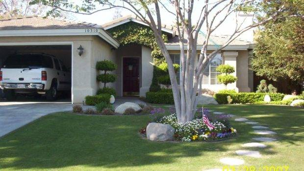 Some Example Landscape Ideas Small Front Yard