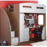 Space Saving Bedside Table Bunk Beds