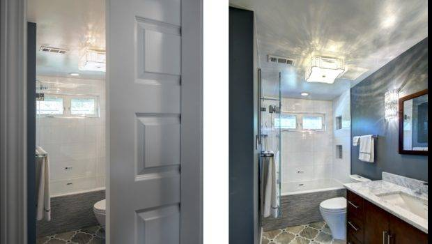 Space Saving Doors After Young Couple Purchased Apartment New
