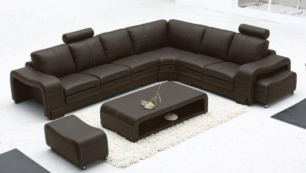 Space Saving Furniture Modern Leather Chesterfield Sofa