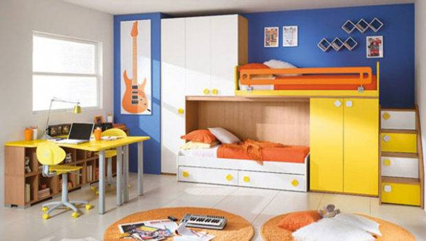 Space Saving Furniture Twins Bedrooms One Total Snapshots