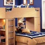 Space Saving Ideas Loft Bed Childrens Bunk Beds Cool