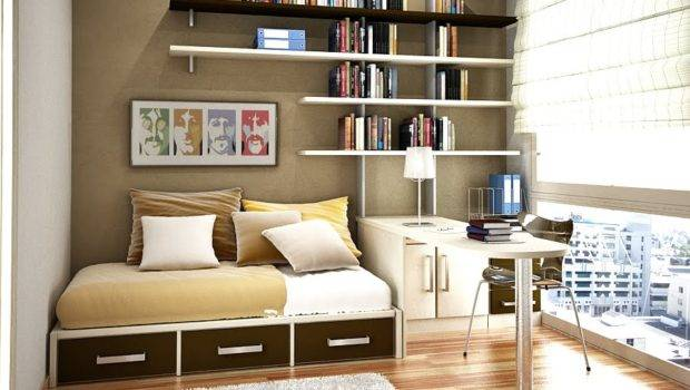 Space Saving Ideas Small Bedroom Modern Japanese Design