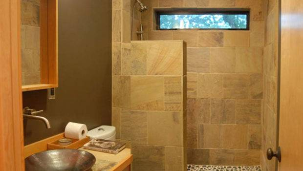 Space Your Small Bathroom Position Tub Shower Side