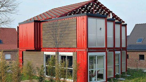 Spacious Container House Made Shipping Containers