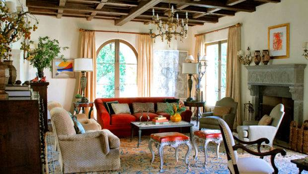 Spanish Colonial Interiors Can Quite Elaborate Relatively Simple