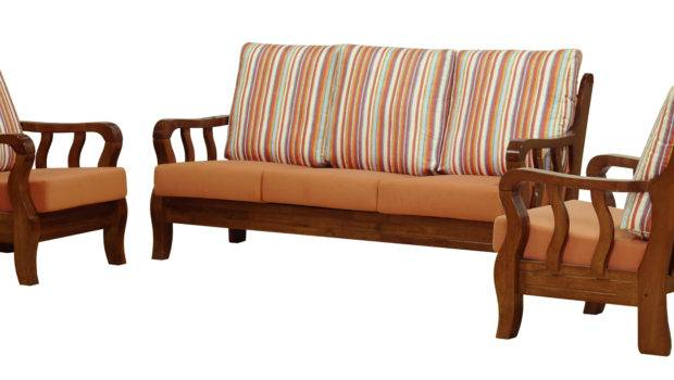 Specialized Manufacturing Customized Sofa Sets Wooden