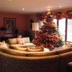 Splendid Christmas Living Room Designs