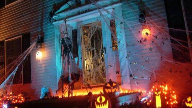 Spooky Halloween Front Yard Decorations Damn Cool