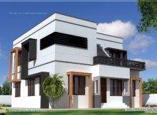 Square Feet Modern Villa Exterior House Design Plans