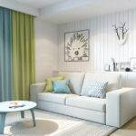 Square Meter Apartment Small Living Room Design
