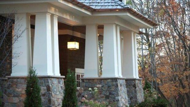 Squared Simple Perfectly Proportioned Tapered Columns Add