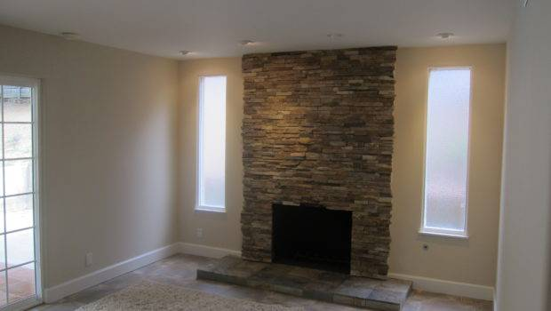 Stacked Stone Fireplace Beach Road Pinterest