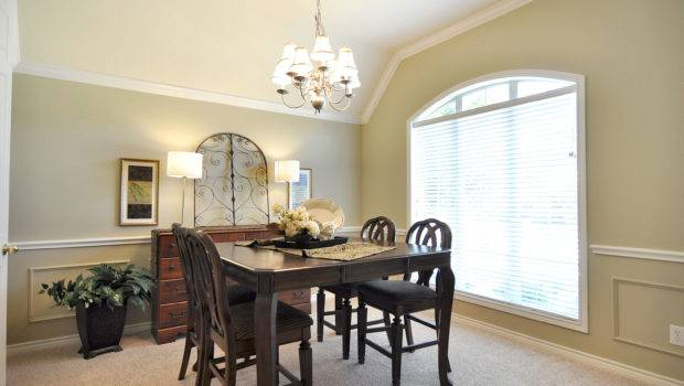 Staged Then Dining Room Transformation