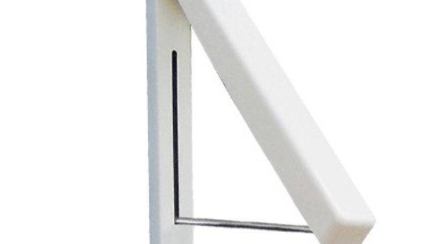 Stainless Folding Wall Hanger Mount Retractable Clothes