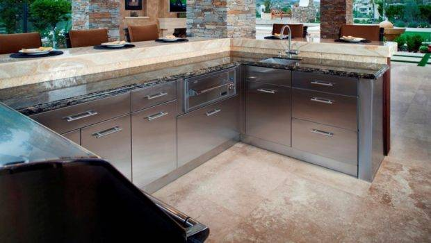 Stainless Steel Outdoor Cabinets Home Design Ideas