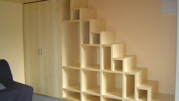 Stairs Part Bookshelf Staircase Building Construction Diy