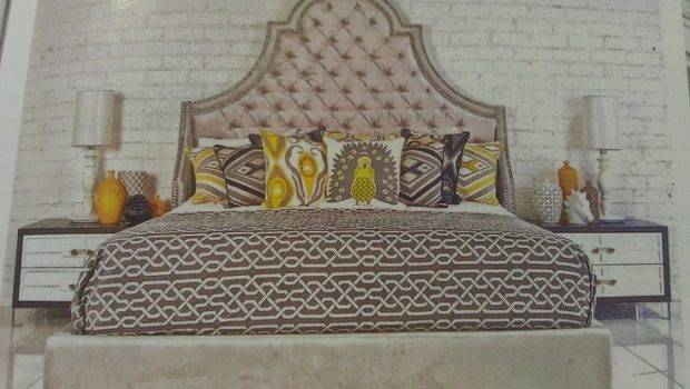 Statement Headboard Home Pinterest