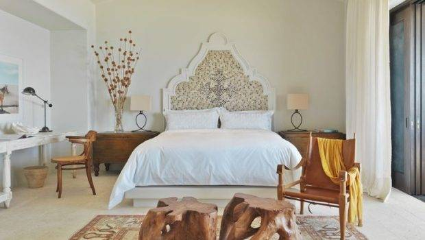 Statement Headboard Mexican Decor Bedrooms Pinterest