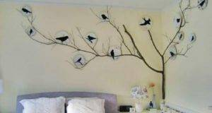 Stickers Bedroom Wall Decal Bird Decals