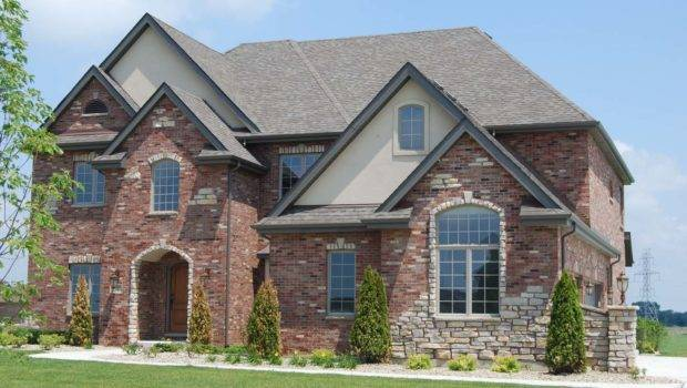 Stone Brick Ranch Houses Exterior