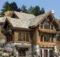 Stone Chimneys Log Cabin Home Homes Plans