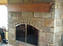 Stone Face Fireplace Michael Arnold Masonry