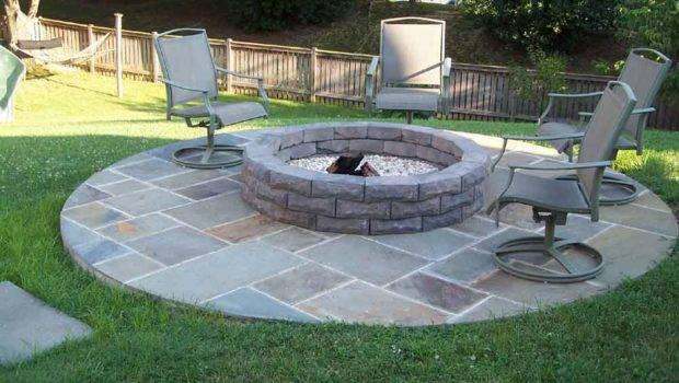 Stone Fire Pit Kits Home Design Ideas