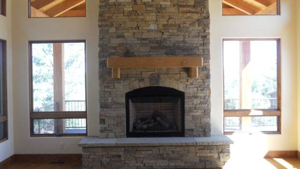 Stone Fireplace Country Living Front Room Pinterest
