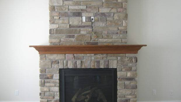 Stone Fireplace Rick Minnings Cultured Work