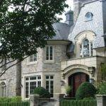 Stone Front House
