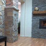 Stone Veneer Fireplace Design Stonefireplaceideas