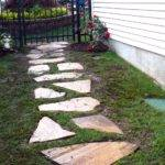 Stone Walkway Tos Diy Newly Completed