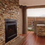 Stone Walls Decor Installation Interior Ideas Fireplace