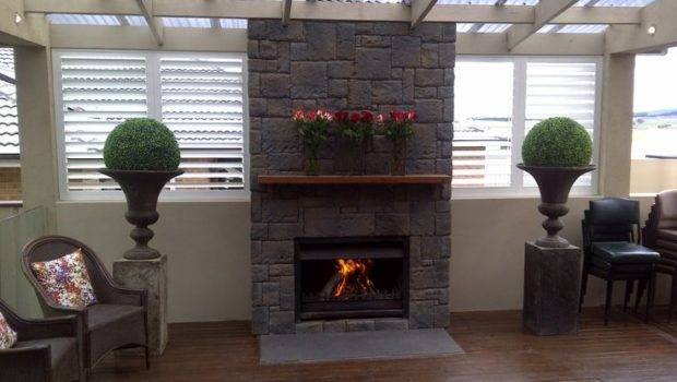 Stones Cladding House Stone Fireplaces Projects