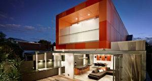 Striking Orange Box South Yarra House Design Lsa Architects